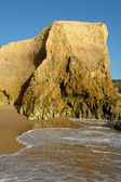 Small beach at algarve — Stock Photo