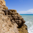 Rocky coast of algarve, south of portugal — Stock Photo #23802281