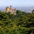 Stock Photo: Palace of Pena in Sintra