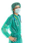 Jonge mannelijke arts — Stockfoto