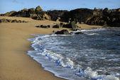 小海滩在阿尔加维 — 图库照片