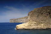 Malta island coastal view at Gozo island — Stock Photo