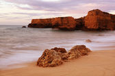 Oceans in algarve — Stock Photo