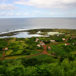 Azores coast village — Foto Stock