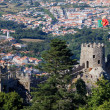 Stock Photo: Castelo dos Mouros in village of Sintra