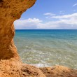 Stock Photo: Rocky coast of algarve