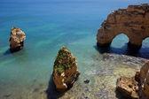 アルガルヴェ地方の美しいビーチ — ストック写真