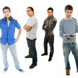 Group of young men — Stock Photo