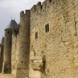 Stock Photo: Ancient fortification of Carcassone