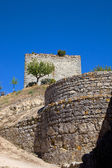 Ourem old castle at the top of the hill — Stock Photo