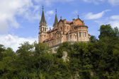 The old cathedral of Covadonga — Stock Photo