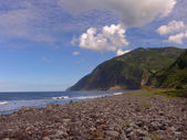 Azores beach — Stock Photo