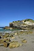 アルガルヴェ地方の小さなビーチ — ストック写真