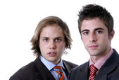 Two young business men — Stock Photo
