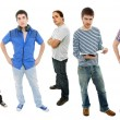 Stock Photo: Men group