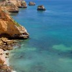 Portuguese Algarve beach — Stock Photo