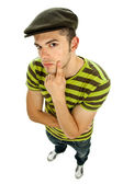 Young casual man full body — Stock Photo