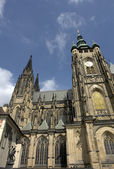 St. Vitus' Cathedral — 图库照片