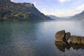 Brienz lake — Stock Photo
