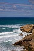 アルガルヴェの岩が多い海岸 — ストック写真