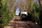 Braga spoorweg — Stockfoto