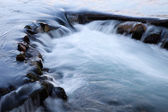 River waterfall — Stock Photo