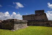 トゥルムの古代マヤ都市遺跡 — ストック写真