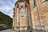 The old cathedral of Covadonga — Foto de Stock