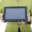 Stock Photo: Digital tablet