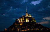 Mount saint michel — Stock Photo