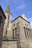 St malo cathedral — Zdjęcie stockowe