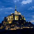Stock Photo: Mount saint michel