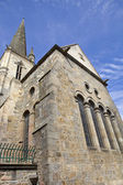 St malo cathedral — Stock Photo
