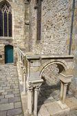 Katedra st malo — Zdjęcie stockowe