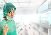 Enfermera — Foto de Stock