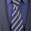 Blue tie — Stock Photo #35327123