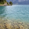 Swiss lake — Stock Photo