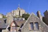 The mont saint michel — Stock Photo