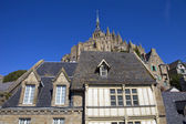The mont saint michel — Stock Photo