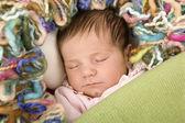 Young baby sleeping — Photo