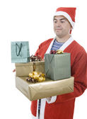 санта подарки — Стоковое фото
