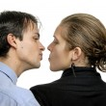 Kissing — Stock Photo #4858976