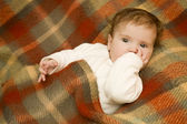 Young baby portrait — Stock Photo