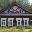 Wooden house in the museum of history of the river of Chusovaya, — Stockfoto