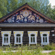 Wooden house in the museum of history of the river of Chusovaya, — ストック写真