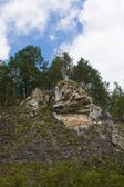 Beautiful high rock — Foto Stock