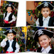 Little boy in suit of pirate — Stock Photo #15719509