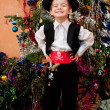 Little boy in the suit of pirate — Stock Photo #15720831