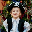 Little boy in the suit of pirate — Foto Stock