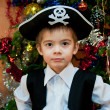 Little boy in the suit of pirate — Stock Photo #15721015